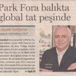 Park Fora- Dünya Gazetesi Kapak